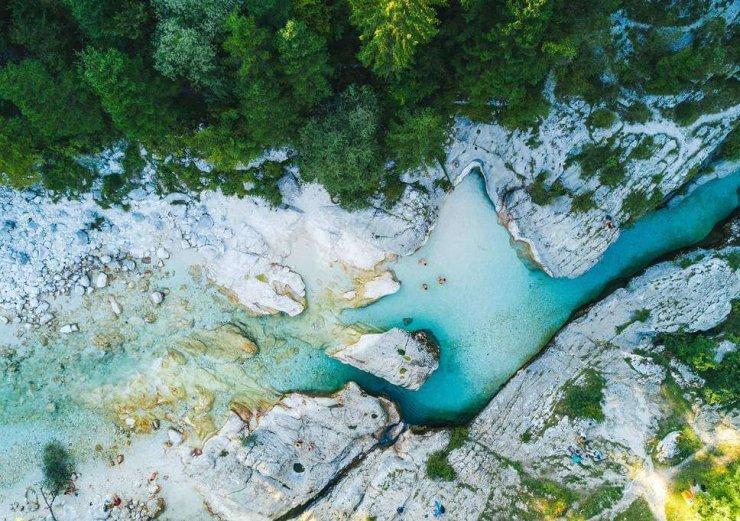 Soča in Logarska dolina med najlepšimi razgledi Evrope