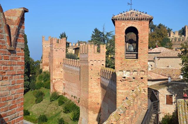 Italijanska Gradara - ljubko srednjeveško mestece