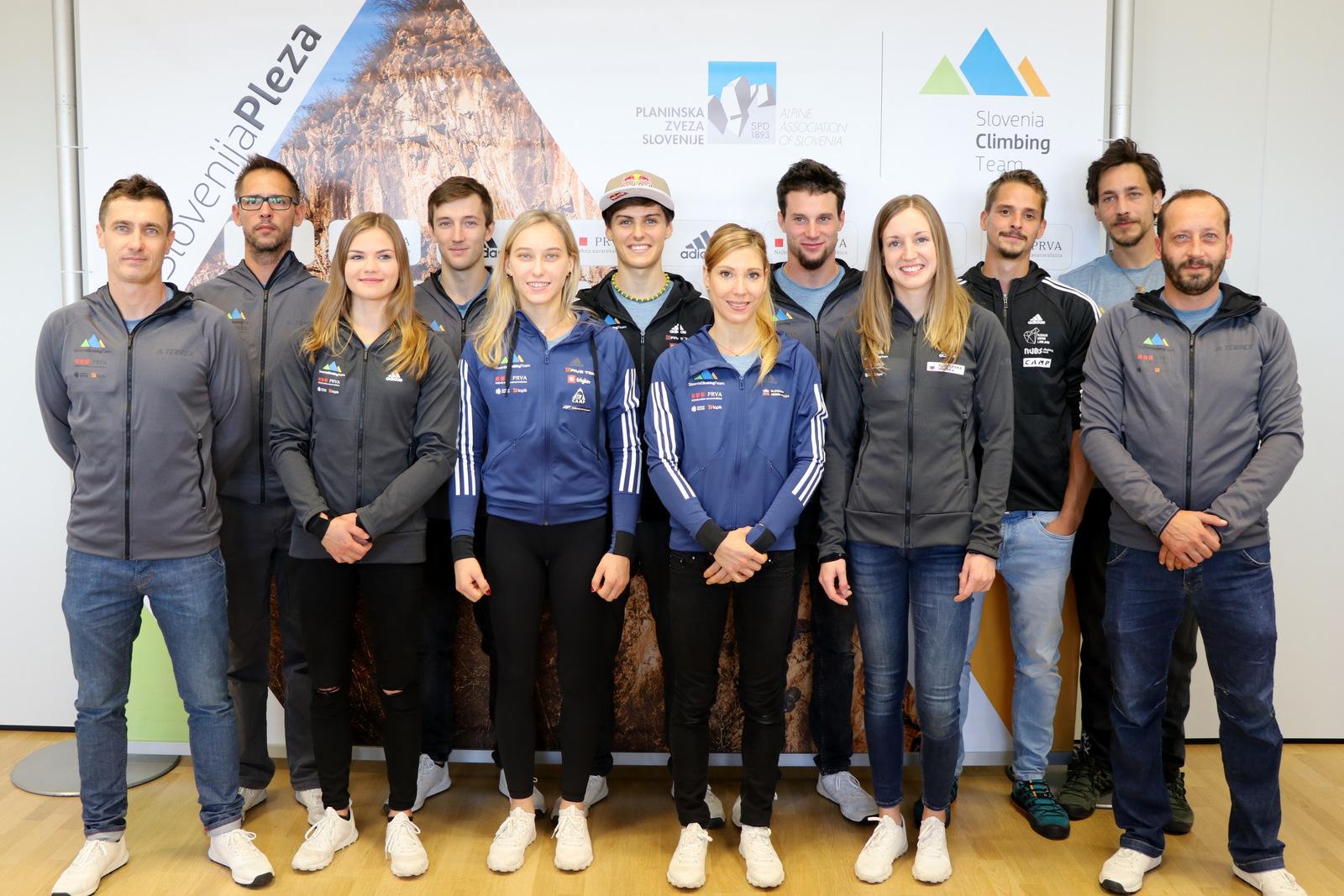 Močna slovenska zasedba v pričakovanju svetovnega prvenstva v športnem plezanju