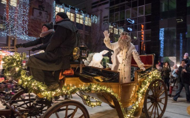 Veseli december z dedkom Mrazom v Mariboru že jutri