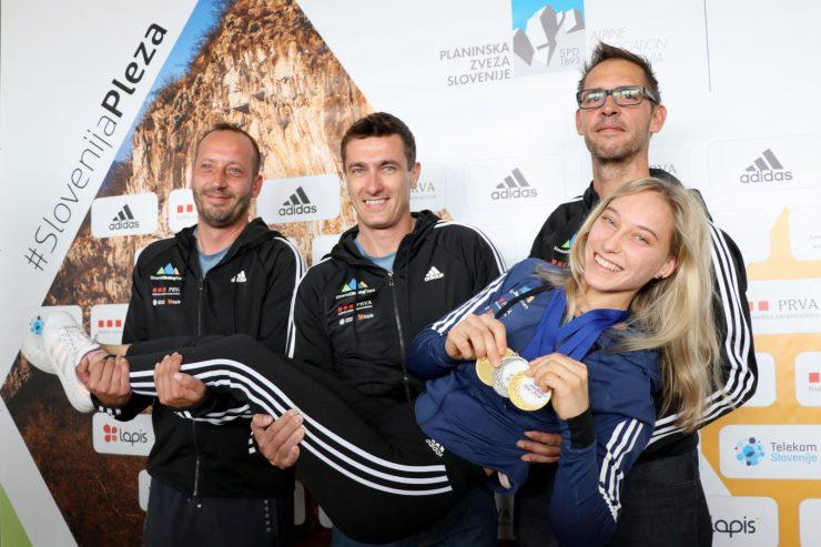 Janja Garnbret se je uvrstila med 10 finalistov športnice leta 2018 svetovnih iger