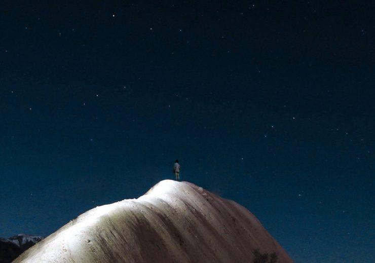 Večer nočnega neba