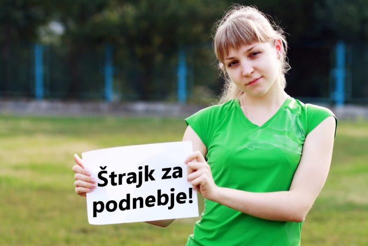 Mladi na podnebni štrajk tudi pri nas!