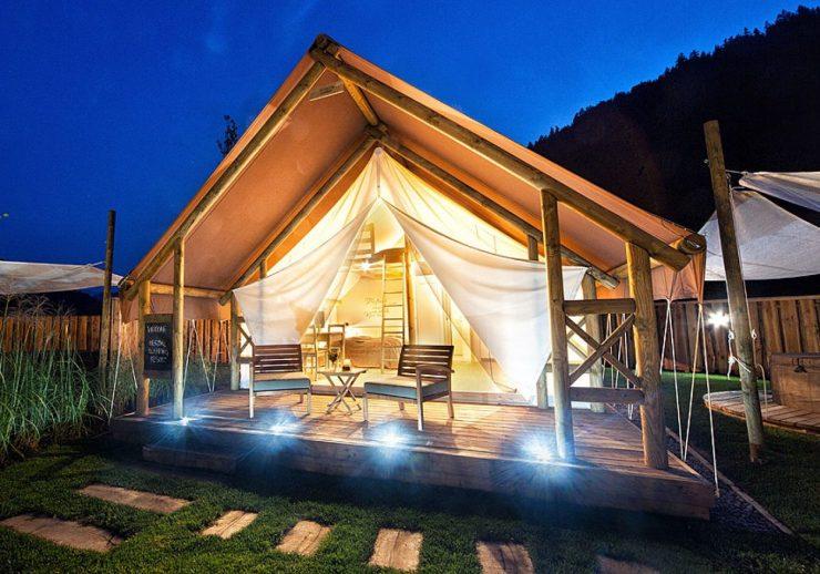 Herbal Glamping Resort je najboljša destinacija za mladoporočence v Evropi