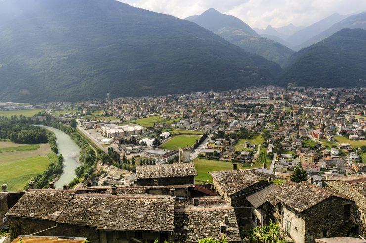 Alpsko mesto leta 2019 je italijanski Morbegno