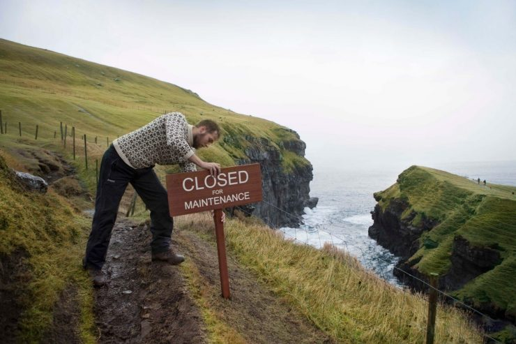 "Ferski otoki bodo en vikend ""zaprti za turiste"""