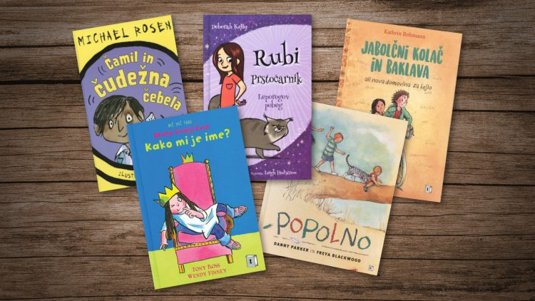 5 simpatičnih otroških knjig za krajšanje deževnih popoldnevov