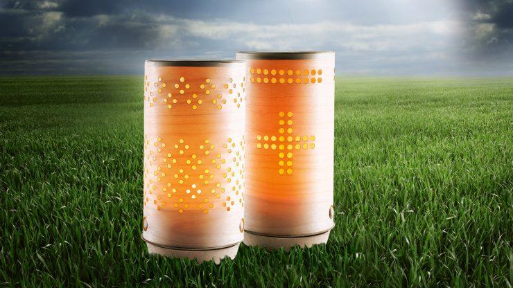 Razgradljiva sveča – namesto v smeti, nazaj v naravo