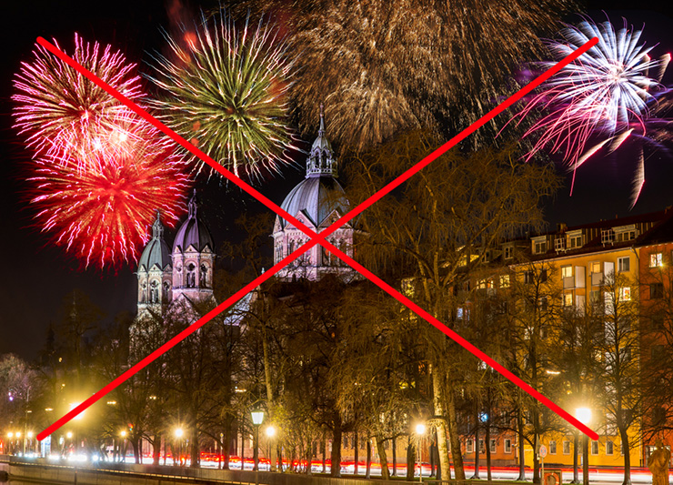 Berlin, Hamburg in München prepovedali ognjemete!