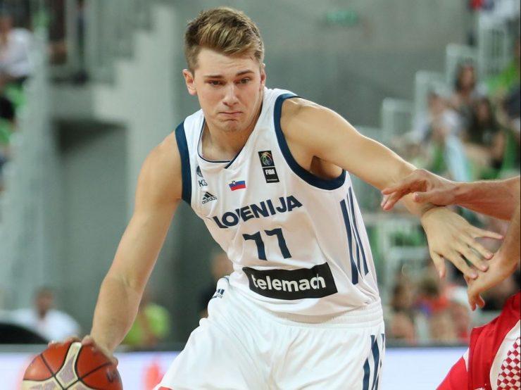 Luka Dončić uvrščen v prvo peterko za tekmo All Star