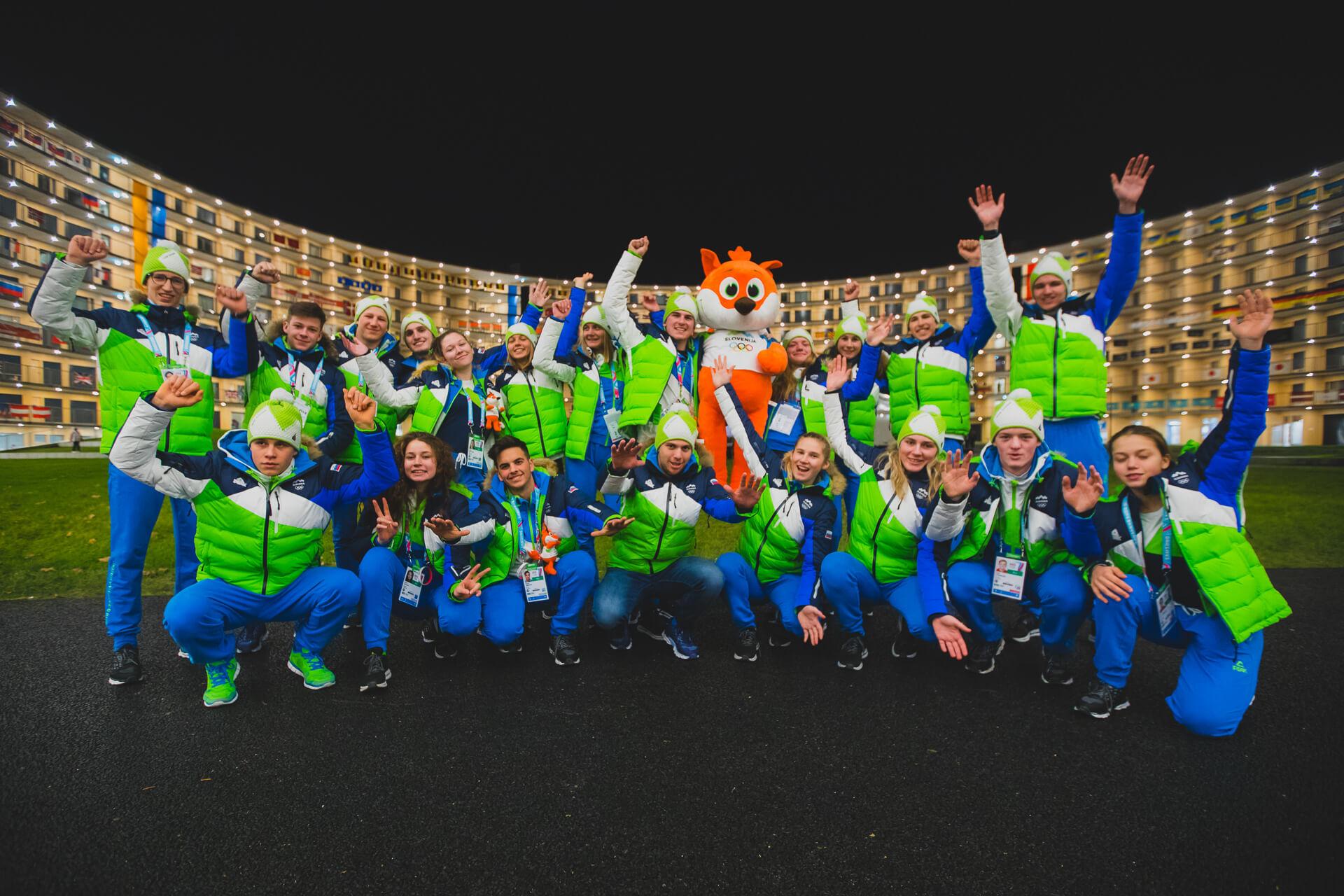 3 kolajne za #TeamSlovenia na mladinskih olimpijskih igrah v Lozani