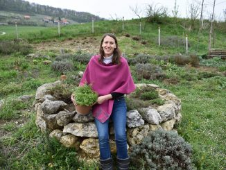 Katja Temnik se je po košarkarski karieri vrnila domov in prideluje zelišča