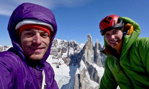 Mir, nova prvenstvena smer Krajnca in Lindiča v Patagoniji