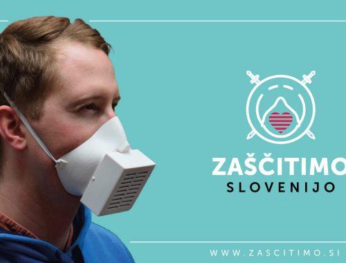 3D maska za zaščito pred novim koronavirusom