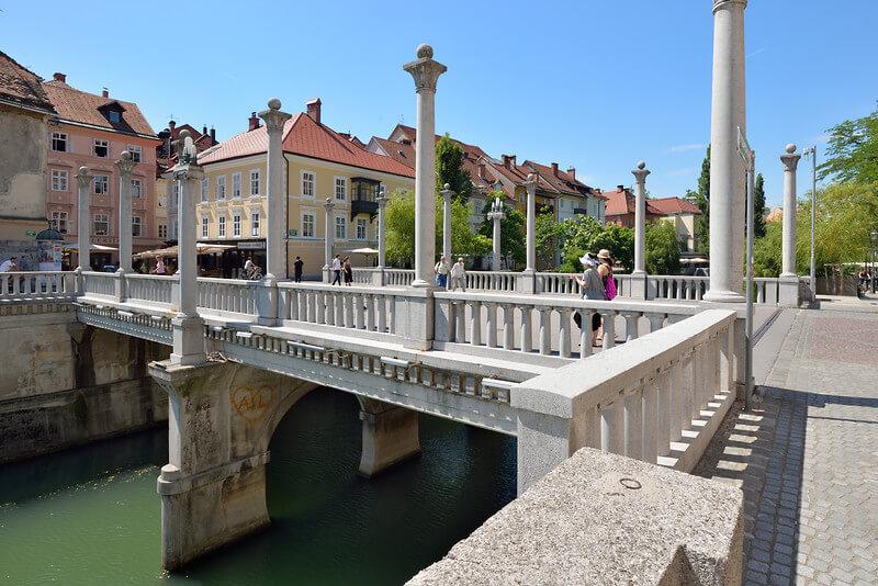 Čevljarski most, Plečnik