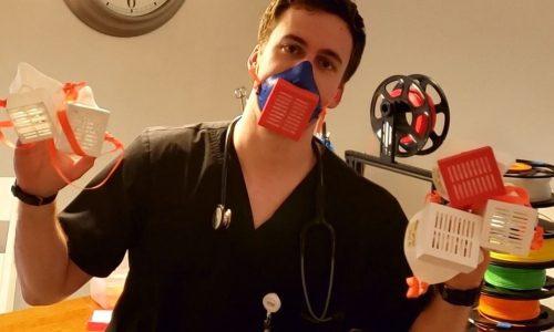 Ameriške bolnišnice tiskajo slovenske 3D maske