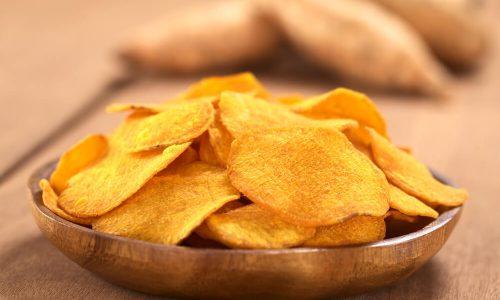 Čips iz sladkega krompirja - zdrav in hrustljav!